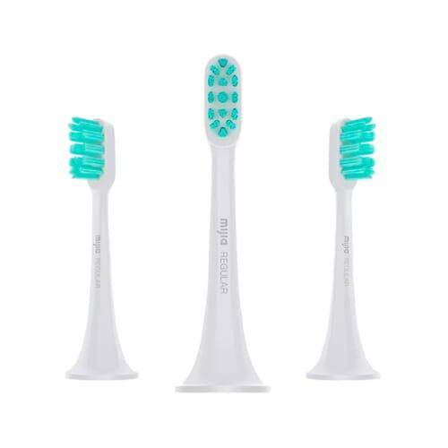 Xiaomi Mi Electric Toothbrush Head (3-pack,standard) Grey - NUN4010GL