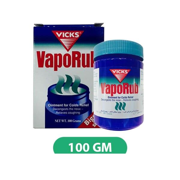 Vicks vaporub germany 100gm