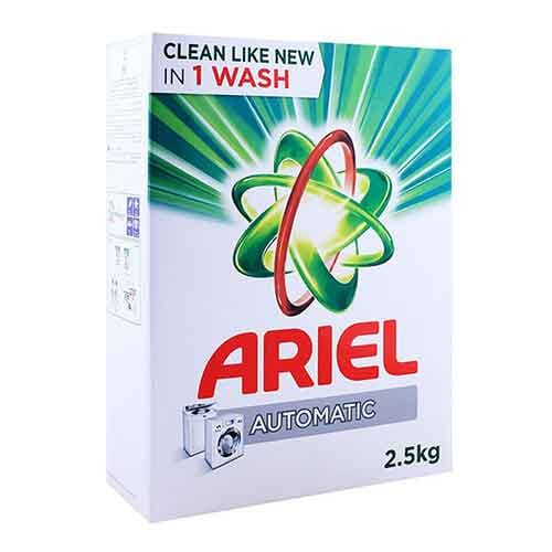 Ariel detergent powder 2.5kg (green)