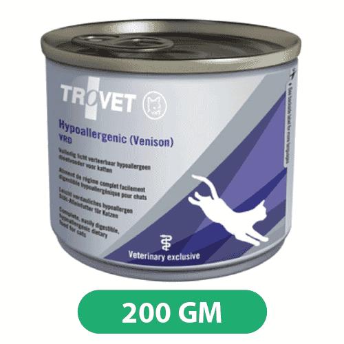 Trovet Hypoallergenic Venison Cat Wet Food Tin 200gms